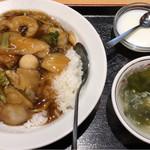 福臨門 - 中華丼 ¥600