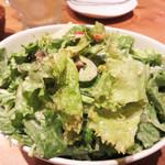 ひびか食堂 - 胡麻シーザーサラダ。