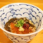 平和寿司 - 海藻麺といくら