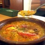 サイゼリヤ - たっぷり野菜のミネストローネ