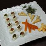 アルバトロス - ■チーズ盛合せ■ゴルフの合間にパクっとつまめる♪ワインのお供に最高デス