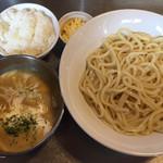 フジヤマ55 - カルボナーラつけ麺