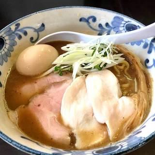 麺屋AMORE - 料理写真:特製バリ鰹らーめん