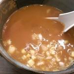 横浜家系ラーメン 魂心家 - つけ麺スープ