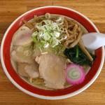 のんきや - しおラーメン(600円)