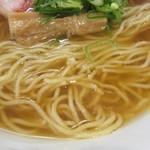 支那そば 大和 - 麺はデフォで硬め
