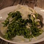 ビストロ椿 - パクチーと春菊のデトックスサラダ、2人前