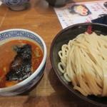 三田製麺所 - 辛つけ麺 中300g