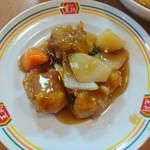 餃子の王将 - ジャストサイズ酢豚