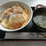 70945846 - ヒレカツ丼(卵とじ)