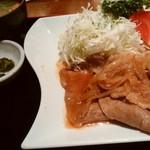 ビヤホール ライオン - 生姜焼き御膳