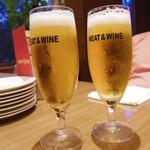 MEAT&WINE ワインホールグラマー - 生ビール