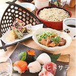季創りそば 膳 奈美喜庵 - ひばり膳(うめ膳1900円 けやき膳2900円)もございます。