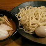 70946524 - 【濃厚魚介つけ麺 並盛 + 煮玉子】¥750 + ¥100