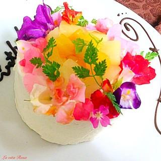 手作りケーキ当日OK!花束や似顔絵などサプライズのお手伝い♪