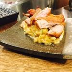 焼き鳥と麹 一石五鳥 - 燻製ポテサラ