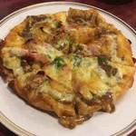 ロッジ赤石 - カレーピザ