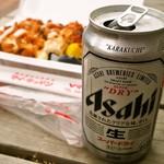 マイキッチン - イカタル弁当にはビールが合うんだぁ