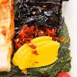 マイキッチン - イカタル弁当(お漬物)