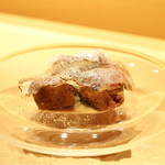 ニクスペシャリテ・カルマ - ☆生サラミ、椎茸のフライ