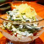 遊食 喜多村 - まさのオカンのほうれん草サラダ