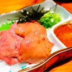 遊食 喜多村 - 鶏白肝の造り