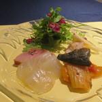 クッチーナ イタリアーナ マリーザ - 前菜
