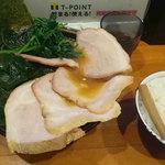 70951610 - チャーシュー麺800円とライス140円と生ワカメ90円