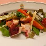 ピッツェリア・サバティーニ - 真蛸と夏野菜のマリネ