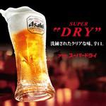 うまい麺には福来たる - 【生ビール】 中ジョッキ  190円  ※ 10月31日までのキャンペーン価格