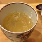 鮨 美菜月 - 新生姜茶碗蒸し
