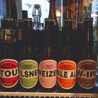 国内・海外合わせて30種類のビール