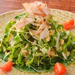 ニライカナイ - んじゃなと島豆腐のサラダ