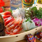 ニライカナイ - 沖縄島魚の刺身