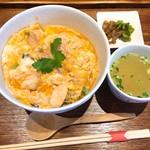 水郷のとりやさん - 水郷どり親子丼(700円)
