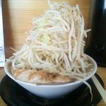 麺屋 とん嬉 - 大盛FRONT