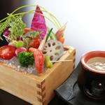 JA野菜とバーニャカウダ