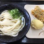 こだわり麺や - 料理写真:冷かけ&ネギのみ