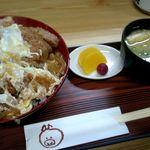 70961795 - カツ丼¥650