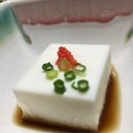 しんのすけ - 白子豆腐(河豚刺し御膳)
