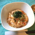 かんべえ - かんべえ特製親子丼(ランチ)