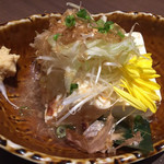 軍鶏専門個室 東京しゃ門 - 鶏出汁 冷奴 454円