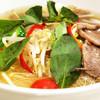 牛すじハーブスープ麺