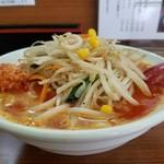 麺や 葉月 - 山盛り野菜炒め