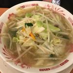 日高屋 - 野菜たっぷりタンメン