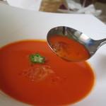 アールジェイ - 料理写真:冷製トマトスープ