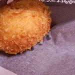 炭火焼肉たむらのお肉が入ったカレーパン屋さん - たむけんのカレーパン