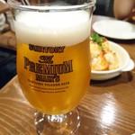 ビストロ タケノヤ - 生ビール 550円