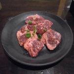 七輪焼肉 安安 - 塩ハラミ