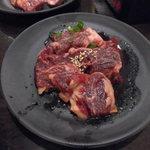 七輪焼肉 安安 - タレハラミ
